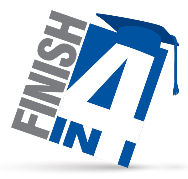 Finish in 4 logo