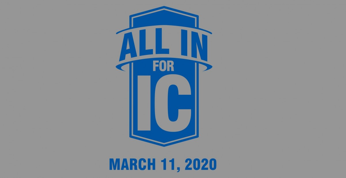 all in for ic wordmark