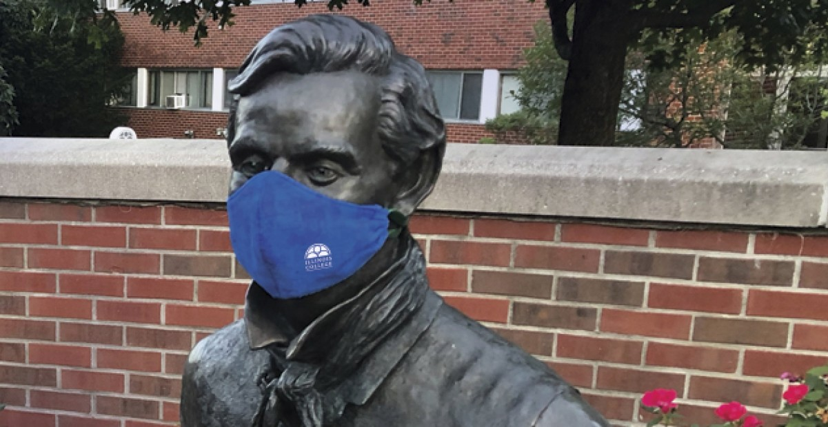 Lincoln in Mask